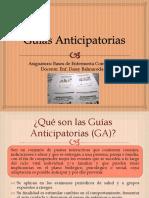 Clase nº25 Guías Anticipatorias
