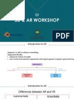 3D & AR WORKSHOP
