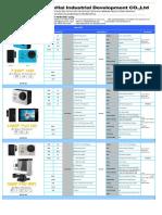 Blue-Hai Sport DV price list 2016-12-20
