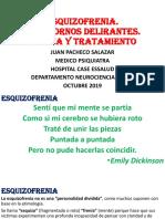ESQUIZOFRENIA TRASTORNOS DELIRANTES CLINICA TRATAMIENTO