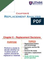 CH6 Replacement Analysis(Bda)