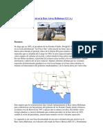El aterrizaje de un ovni en la Base Aérea Holloman.docx