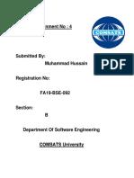 Assignment 4 islamic studies