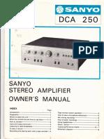 Sanyo Dca 250
