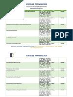 Informasi Jadwal Training Pelatihan Rumah Sakit 2020 - Malang