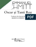 Eric Emmanuel Schmitt - Oscar Si Tanti Roz