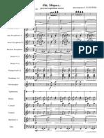 oj, Moroz - Celá partitura