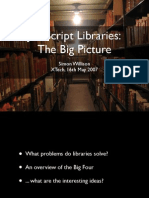 Javascript Libraries the Big Picture 20285
