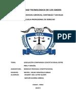 legislacion peruana y española