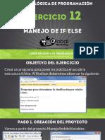 Ejercicio 12 - Manejo de IF-ELSE.pdf