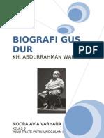 BIOGRAFI GUS DUR