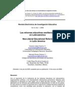 Las Reformas Educativas en La Ti No America