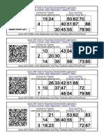 100+ Tambola Tickets Printable FREE