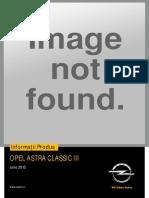 Catalog Accesorii Opel Astra H Hatchback (Iunie 2013)