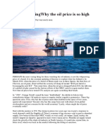 Crude thinkingWhy the oil price is so high.docx