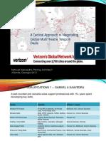 Negotiating global Telecom Deals forVerizon Business 2012