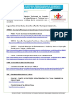 Lista de lista de Secretarias, Conselhos e Fundos Municipais da Cidade de São Paulo