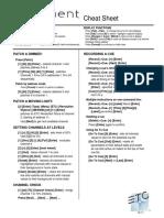 ETC Element 2 Cheat Sheet