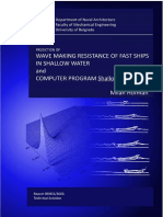 PREDICTION_WAVE-MAKING_ RESISTANCE_FAST_SHIPS_SHALLOW_RESTRICTED_WATERS