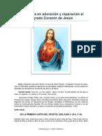 Hora Santa SAGRADO CORAZON DE JESUS