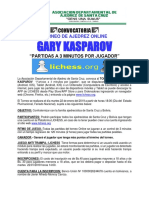 Torneo ONLINE GARY KASPAROV  2019