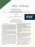 Monitorul Oficial nr 1 1989 COMUNICATUL CĂTRE ŢARĂ al Consiliului Frontului Salvării Naţionale