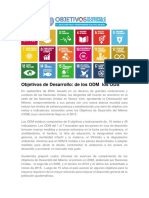 Objetivos de Desarrollo