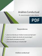 Sesión 9 Analisis conductual aplicado