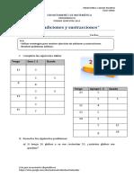 PRIMERO GUÍA N°13 PROBLEMAS ADITIVOS  III  (1)