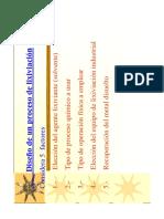 diseño de procesos lixiviacion