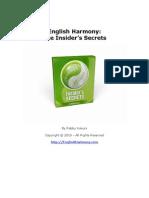 English Harmonies