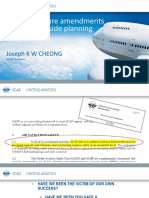 ICAO Recent and future amend AN14 (JCheong)