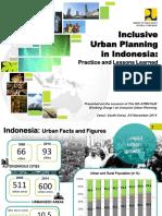 Inclusive Urban Planning in Indonesia