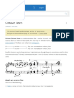 Octave lines