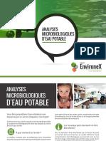 EX Analyses Microbiologiques Eau Potable Laboratoires 02