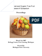 4th Organic Tree Fruit Reserach Symposium Proceedings