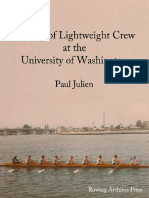 History of University of Washington Lightweight Rowing 1914-1987