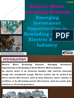 Electric Motor Rewinding Business. Emerging Investment Opportunities in Rewinding of Burnt Electric Motors Industry-721996-.pdf