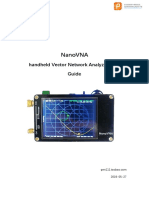 NanoVNA User Guide_20190527.