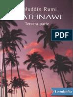Mathnawi tercera parte - Maulana Jall alDn Rm
