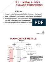 Topic 11 Application and processing of metals alloys
