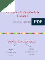 Clase 1 DYEL Didáctica general