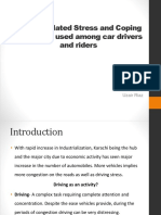 Driving Related Stress and Coping Strategies among drivers