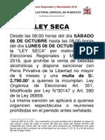 COMUNICADO LEY SECA (1)