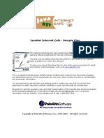 Internet Cafe Sample Marketing Plan