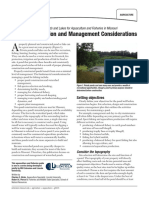 Pond Construction and Management Considerations G09474 Hicks Aquaculture