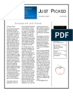 Winter 2010 Just Piced Newsletter, Midwest Organic and Sustainable Education Service