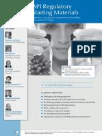 API Regulatory-Starting-Materials