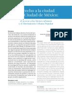 ENRIQUEZ_Derecho a la cidd en CDM el acesso a los bienes urb e el MUP.pdf