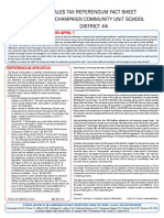 Unit 4 Sales Tax Fact Sheet